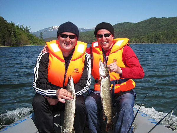 туры на рыбалку на байкале