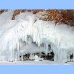 Ледовые гроты Ольхона